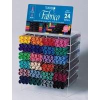 ツキネコ ファブリコマーカー 24色144本 ディスプレイセット FAM-144の商品画像