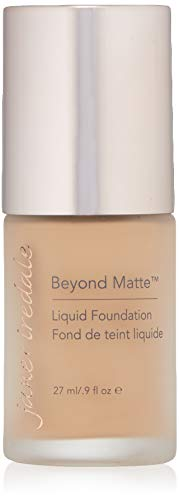 Jane Iredale Beyond Matte 3-in-1 Liquid Foundation, Long-wear, Buildable Coverage, Vegan, Clean, Cruelty Free, Semi Matte Finish, M6 (Best Liquid Foundation For Over 50)