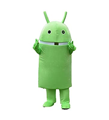 Professional Android Robot Mascot Costume Facny Dress Adult Size