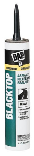 Dap 18020 Blacktop Asphalt Sealant (1801 Raw Building Material Black