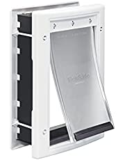PetSafe Plastic Pet Door with Soft Tinted Flap, White, Small