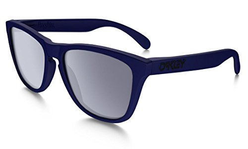 Oakley  Men's Frogskins Matte Blue W/ Grey One - Skin Frog Oakley