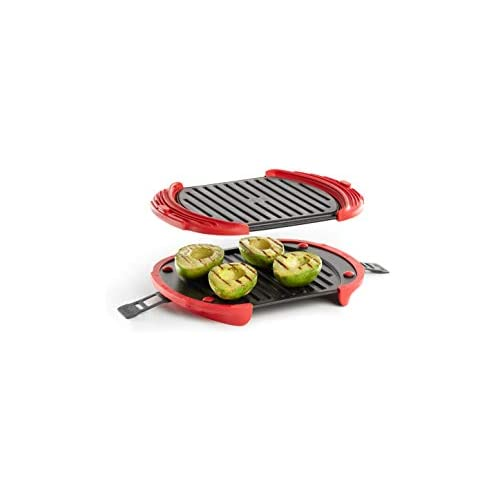 chollos oferta descuentos barato Lékué 0220600R14 Microwave Grill XL Parrilla para microondas Acero Inoxidable