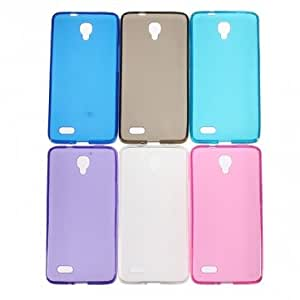 TPU Soft Gel Silicone Matte Case For Alcatel One Touch Idol OT 6030 --- Color:Dark Blue