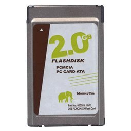 - 2GB PCMCIA ATA Flash Card p/n ATA-2GB-MT