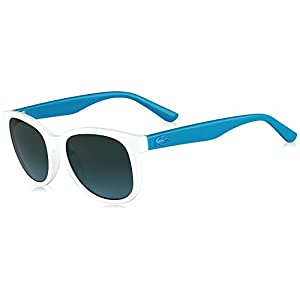 Lacoste Eyewear Square Kids Sunglasses (White)