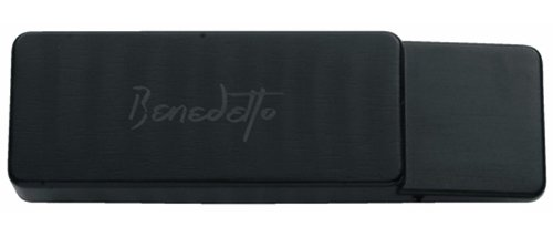 Benedetto S-6 Jazz/Archtop Alnico 5 Humbucker Guitar Pickup, Black ()
