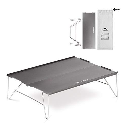 Tentock Ultralight Aluminium Vouwtafel voor Outdoor Camping Picknick met Draagtas (champagne)