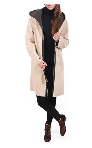amp; Manteau Vert Longues Uni Femme Rino Parka Pelle Manches 7TEwaxq1