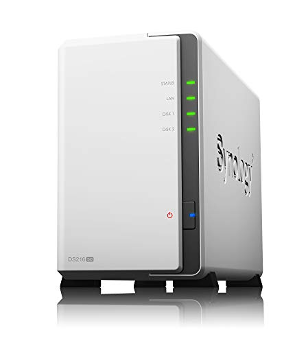 Synology 2 bay NAS DiskStation DS216se (Diskless)