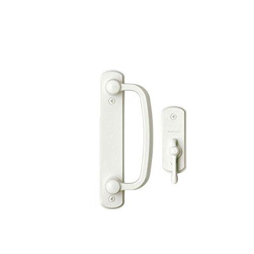 Andersen Albany 2-Panel Gliding Patio Door Hardware Set in White (Narroline Patio Andersen Doors)