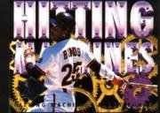 1994 Fleer Ultra Hitting Machines Baseball Card #3 Barry Bonds
