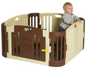 Play Zone in Tan/Brown by Children's Factory