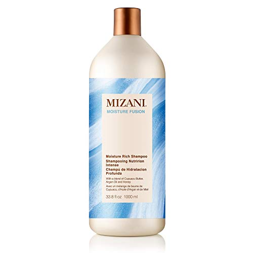 MIZANI Moisture Fusion Moisture Rich Shampoo, 33.79 fl. oz. (Moisture Rich Shampoo)