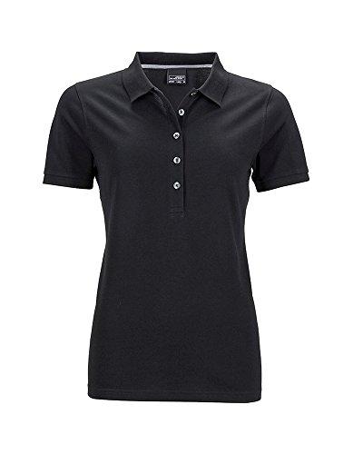 Camisa Polo de calidad superior para Mujer Ladies' Pima Polo Black