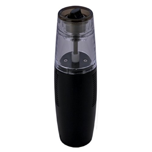 MIU France Battery Powered Pepper Grinder, Black ()