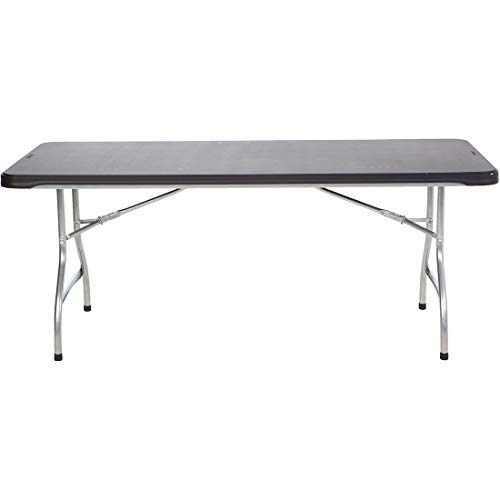 Table Stacking Outdoor - Lifetime 6-Foot Stacking Table and Chair Combo