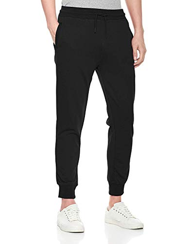XIXVON Men's Classic French Terry Jogger Sweatpant Black - Fit Classic Terry French Pant