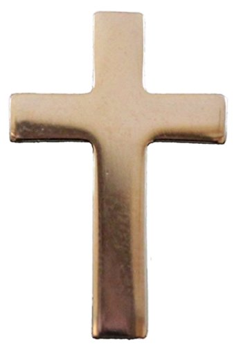 Gold Plated Christian CrossLapel Pin