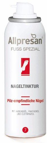 Allpresan Fuß Nr 7 Spezial Nageltinktur für pilz empfindliche Nägel, 50 ml
