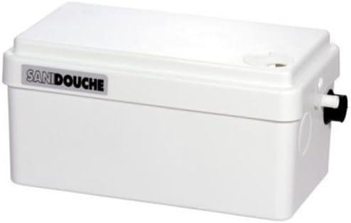 SFA Abwasserpumpe SaniDouche Hebeanlage - Schmutzwasserhebeanlage Test