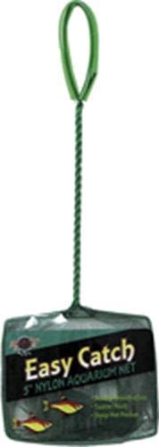 Blue Ribbon Pet Products ABLEC5C Easy Catch Fish Net, 5-Inch, Coarse Green