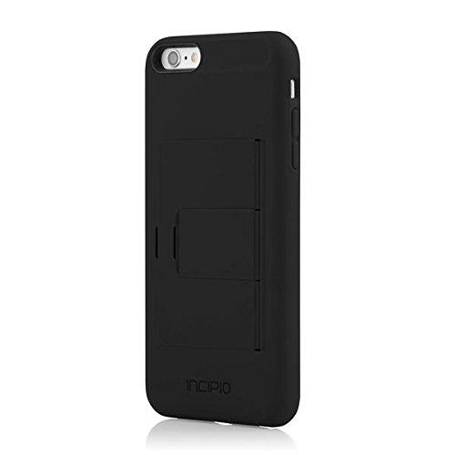 Incipio STOWAWAY  for iPhone 6 Plus / 6s Plus - Black/Black