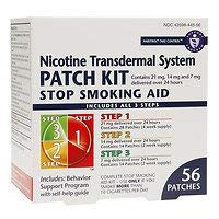 Habitrol Nicotine Transdermal System Stop Smoking Aid Patch Kit Steps 1,2,3