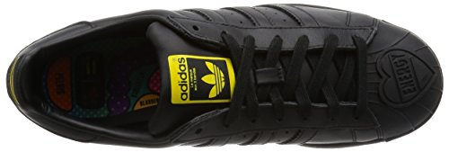 Adidas Superstar Pharrell Scarpa 8,0 black/black/yellow