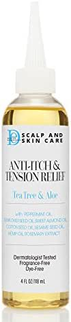 Design Essentials Scalp & Skin Care Anti-Itch & Tension Relief, Tea Tree & Aloe, 4 Fluid Ounce