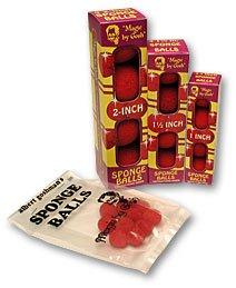 Palline di Spugna Rosso - Albert Goshman 7075