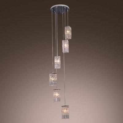 Zinc Cube Pendant Light in US - 1