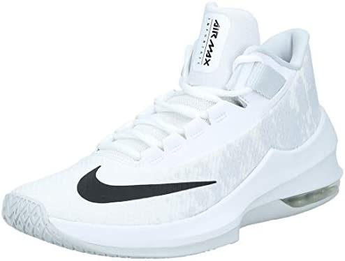 Nike Air Max Infuriate 2 Mid, Men's Basketball Shoes, Black