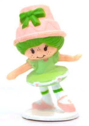 Strawberry Shortcake Vintage Mini Lime Chiffon the Ballerina ()