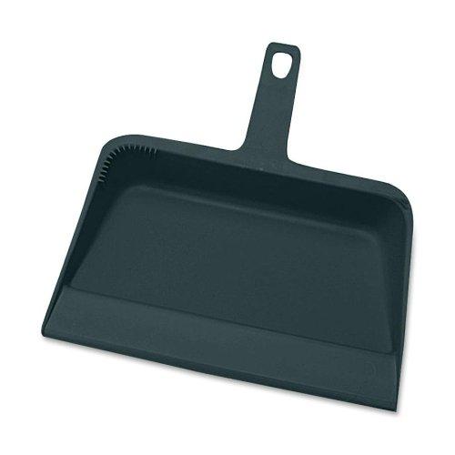 (Genuine Joe 02406 Dust Pan Heavy-Duty Plastic 12