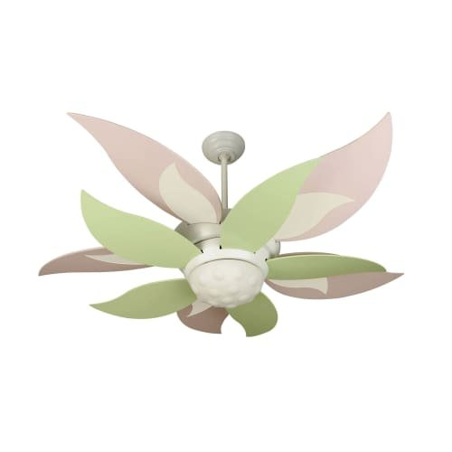 "Craftmade BL52W Bloom 52"" Ceiling Fan - Remote and Light Kit"