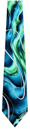 JG-XL-6231 - Jerry Garcia Extra Long Silk XL Big and Tall Designer Necktie Ties (Jerry Garcia Extra Long Ties)