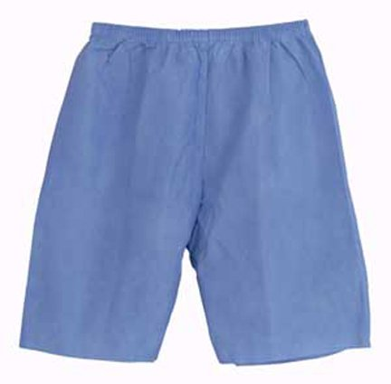 Avalon Papers 2102 Exam Shorts, Large, Blue (Pack of 100) by Tidi