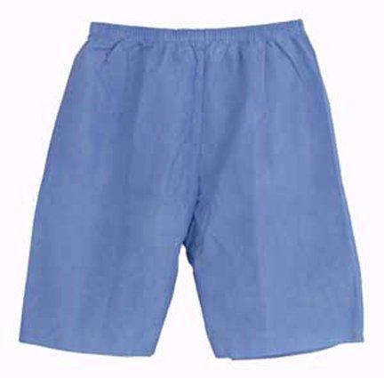 Avalon Papers 2102 Exam Shorts, Large, Blue