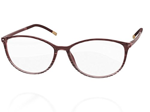 (Silhouette Eyeglasses SPX ILLUSION FULLRIM 1564 (6053 BROWN, 52MM) )