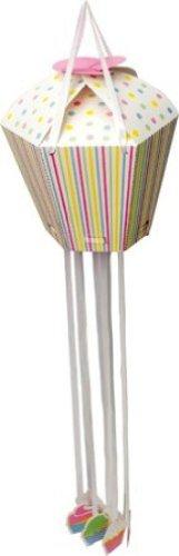 Paper Pinata with Pull Strings, Cupcake (Pull String Pinata Cupcake)