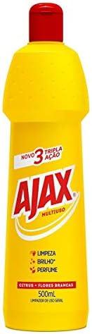 Limpador Diluível Ajax Multiuso Citrus + Flores Brancas 500Ml
