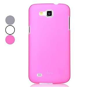 compra Estuche protector duro de gama alta de Samsung I9260 Galaxy Premier (colores surtidos) , Gris
