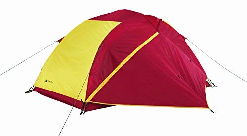 OZARK Trail 2-Person 4-Season Backpacking Tent - Red/Yellow