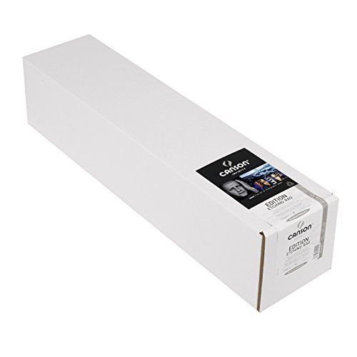 - CANSON Infinity Edition Etching Rag Fine Art Paper, Acid Free for Printmaking, 24 Inch x 50 Foot Roll, Bright White
