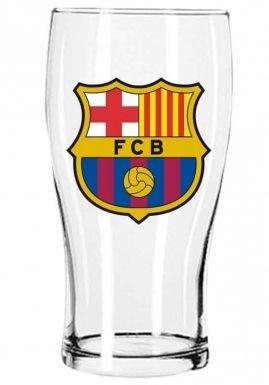 FC Barcelona Crest Pint Glass