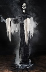 Halloween Prop: Reaper Fogger- Phantom in Black (Wretched Animated Prop)