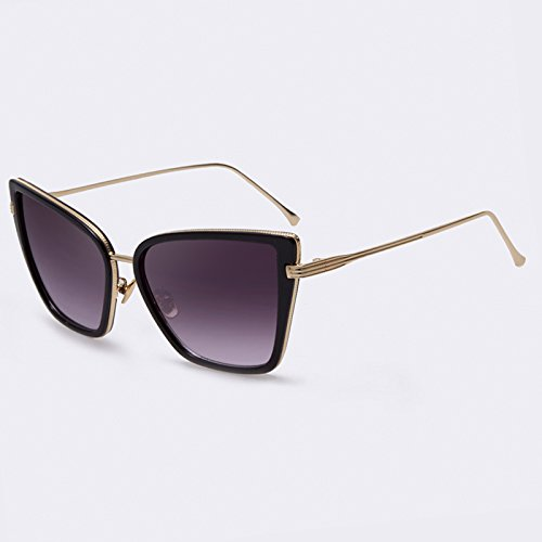 Gydoxy(TM) 1 PCS Fashion Brand Designer Cat eye Sunglasses Coating Mirror Lens Party Women Sun Glasses lunette de soleil femme UV400 - A Good Jim Maui Is Brand