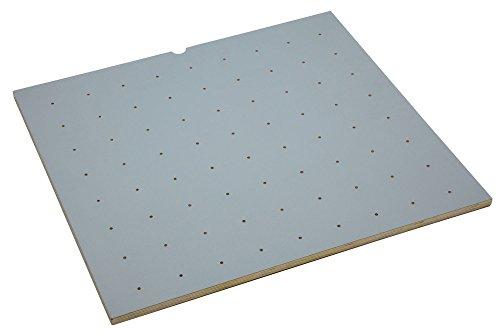 (Rev-A-Shelf - 4DPBG-3921-1 - 39 x 21 Wood with Grey Vinyl Lining Peg Board Drawer Insert)