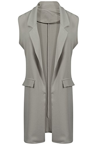 Get The Trend - Chaleco - para mujer gris